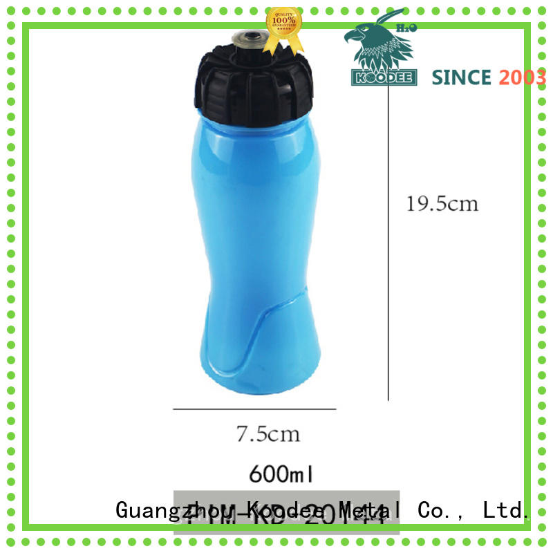 Koodee food-grade plastic water bottles for sale low price for drinking