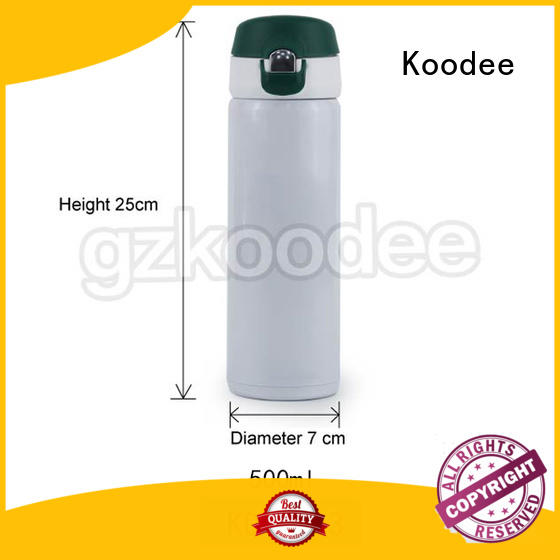 high-end thermos insulated water bottle buy now for potable Koodee