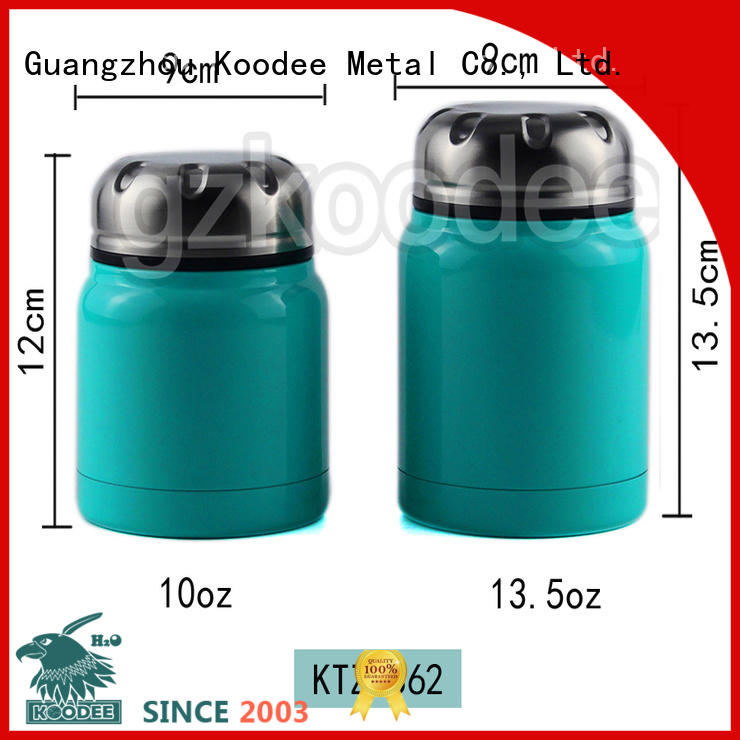 Koodee small best thermal food container free sample for trip