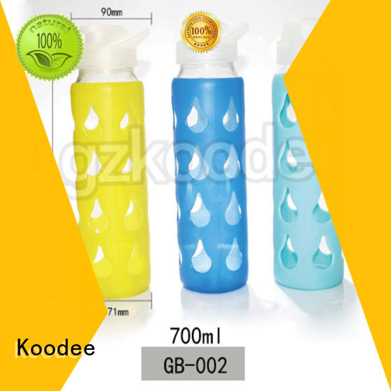 cartoon colored glass water bottles material glassware Koodee
