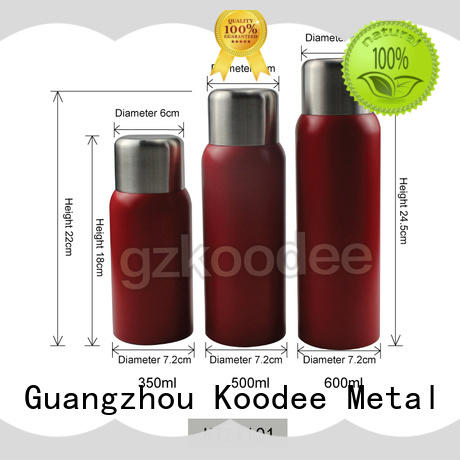 stainless steel thermos bottle custom for student
