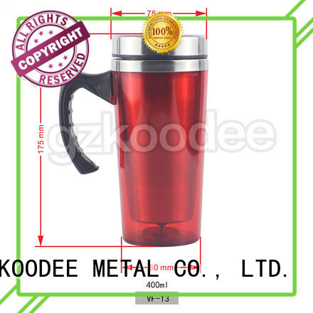 Custom Logo Fashion Vacuum Stainless Steel Vacuum Flask Water Tumbler 400ml Koodee