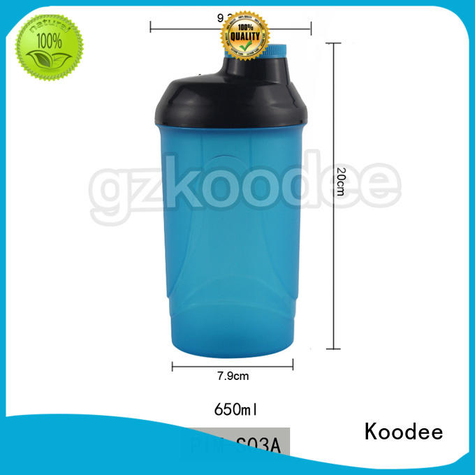 plastic sports bottle double wall for student Koodee
