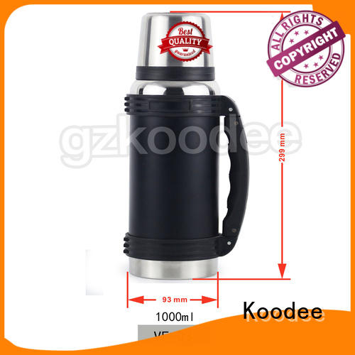 fashion steel thermos bottle order now for drinking Koodee