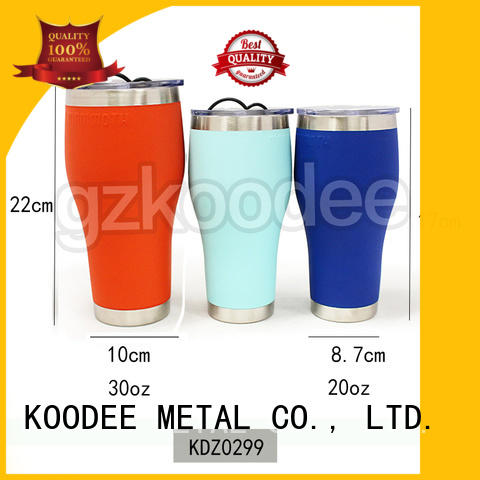 Vacuum Insulated Thermal Insulation Stainless Steel Water Bottle 20oz 30oz Koodee