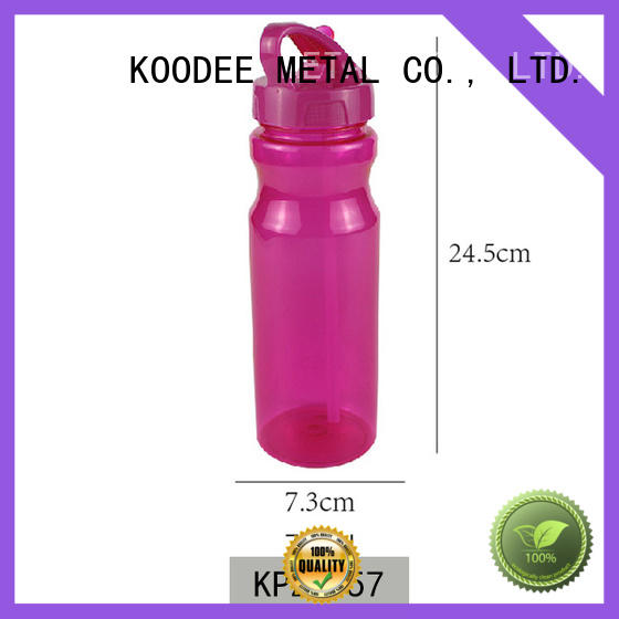 good plastic water bottles big capacity for coffee Koodee