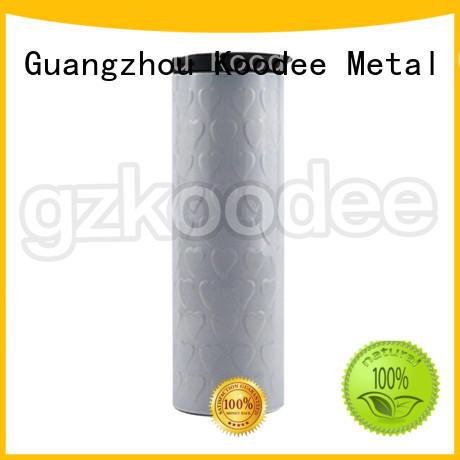 Koodee fluorescent stainless steel sport water bottle tumbler for wholesale
