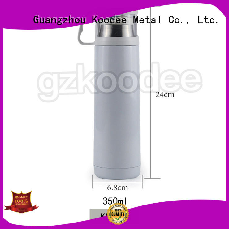 Koodee white best thermos water bottle ask children