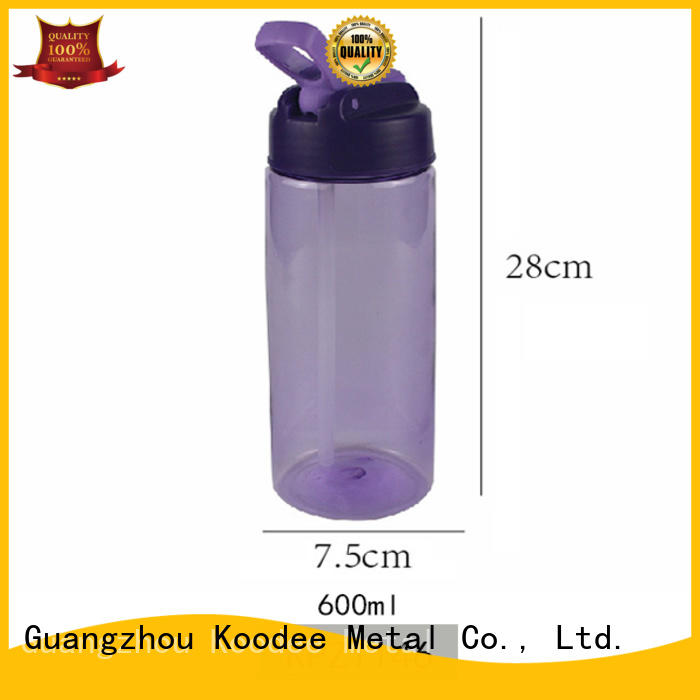 oem plastic sports bottle colorful for drinking Koodee