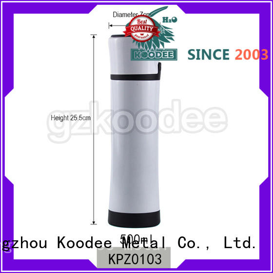 Vacuum Bottle Button Cap Stainless Steel Material 500ml Koodee