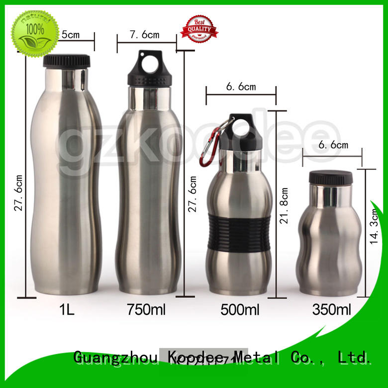 Koodee top brand thermos stainless steel bottle insulator insulation for potable