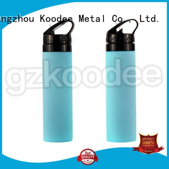 Koodee easy flat water bottle at sale, bulk order, cheap factory price