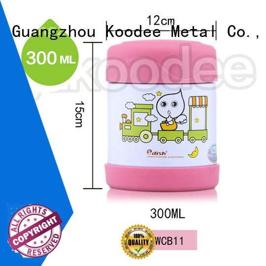 thermos insulated food containers OBM for trip Koodee