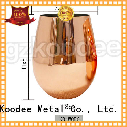 Koodee hot-sale funky wine glasses recycable for wine