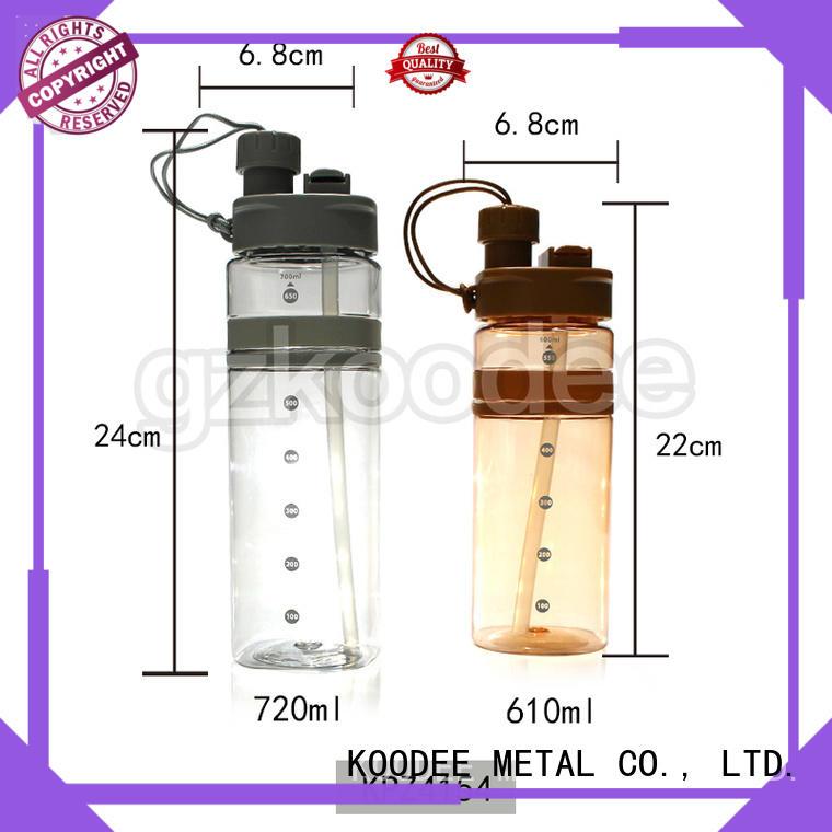 Koodee wall plastic water bottle manufacturer double wall for juice