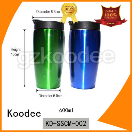Koodee stainless steel stainless steel insulated coffee mugs at discount for wine