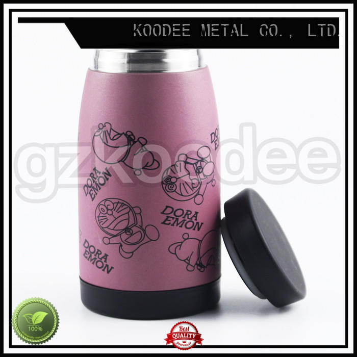 nice vacuum insulated stainless steel water bottle thermos for wholesale Koodee