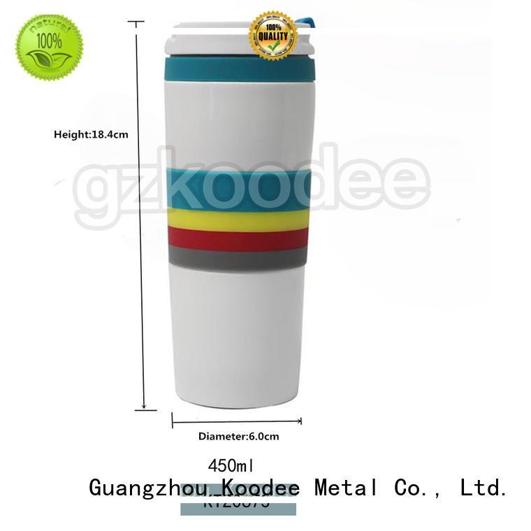 stainless coffee mug simple design for wine Koodee