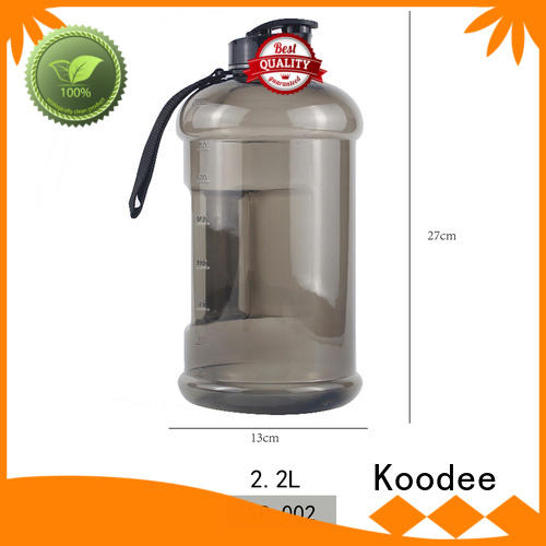 Koodee food grade cheap plastic drink bottles held for milk
