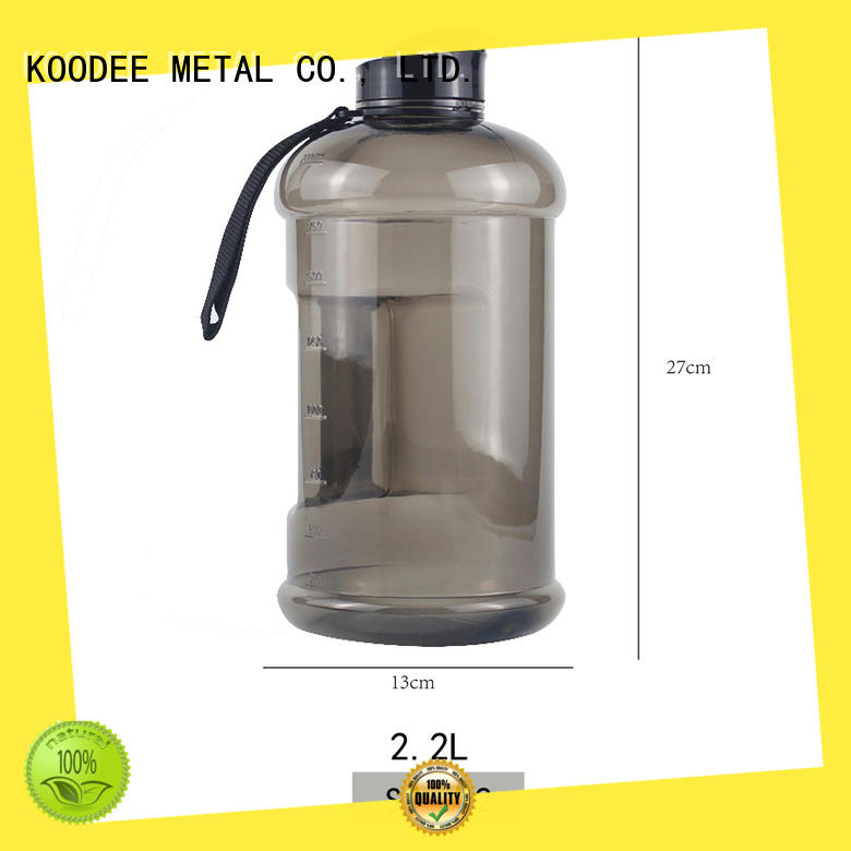 classic personalized plastic water bottles design for student Koodee