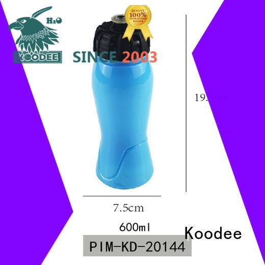 big capacity cheap plastic drink bottles fitness for coffee Koodee