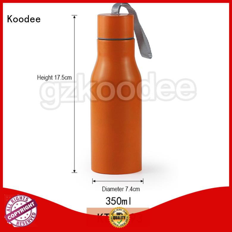 Koodee top brand best metal water bottle custom for water bottle