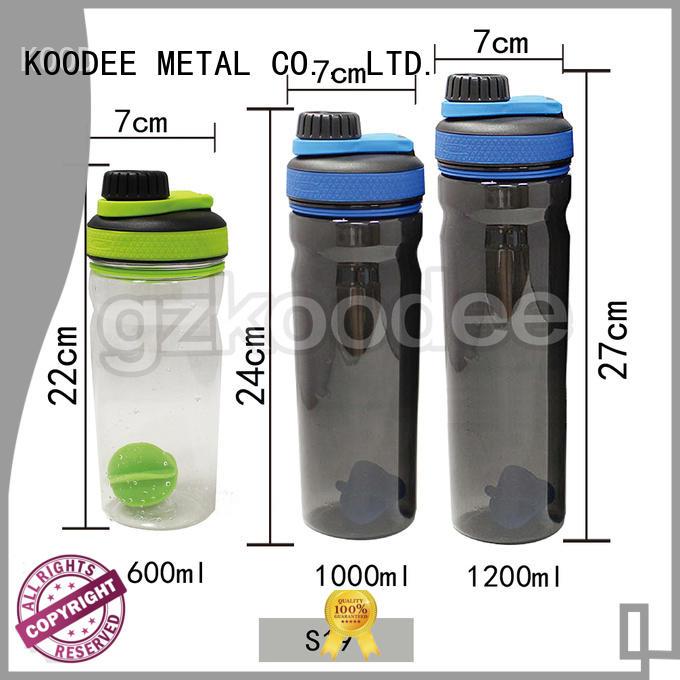 empty plastic drinking bottles dumbbell shape for milk Koodee