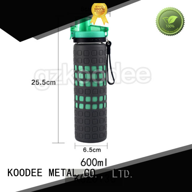 cheap factory price glass drinking bottles direct manufacturer for drinkware Koodee