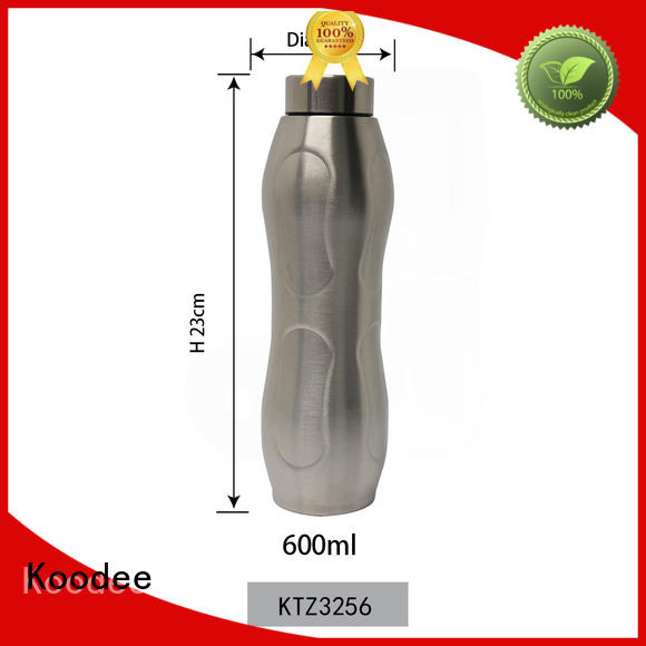 Koodee high-quality insulated stainless steel water bottle BPA-free for bar