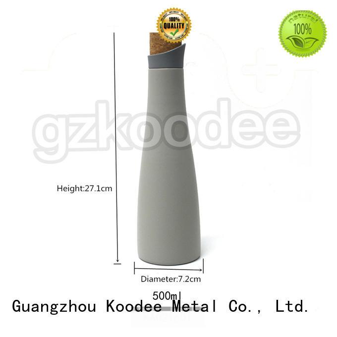 Koodee OEM stainless steel vacuum bottle order now for student