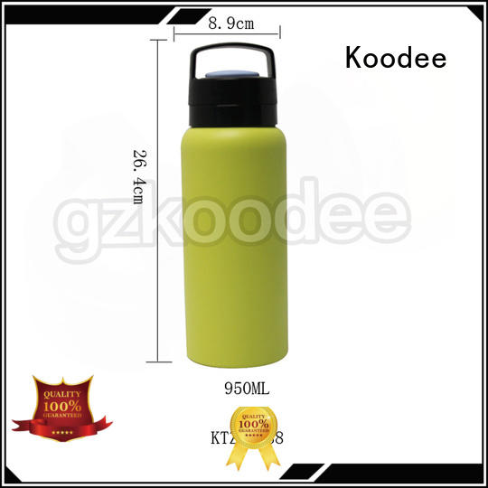 Koodee colorful vacuum insulated water bottle high-end for potable