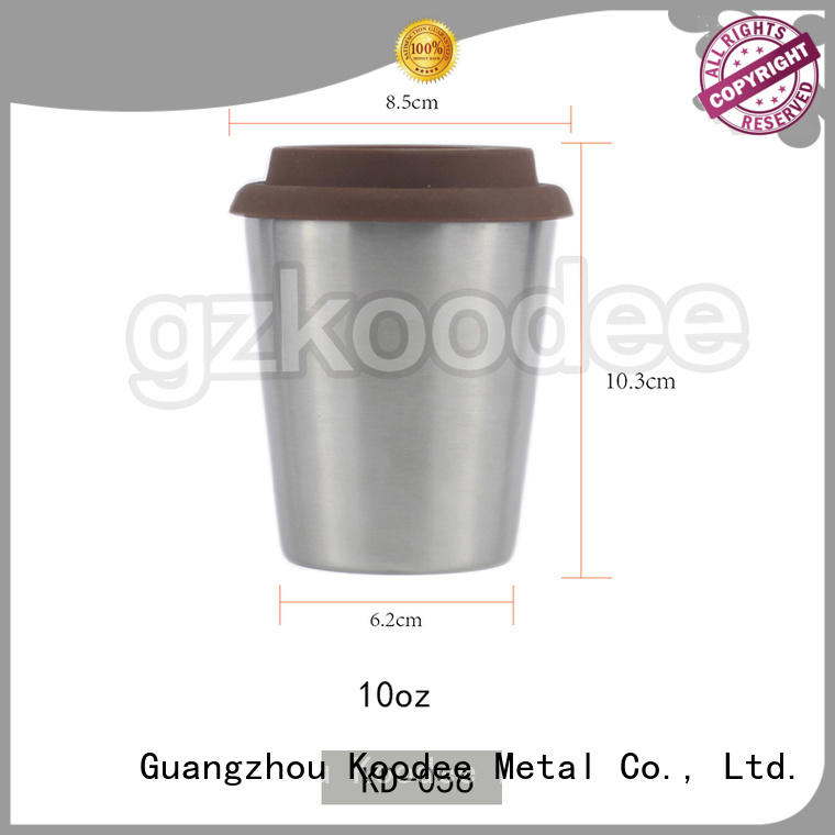double thermos coffee cup at discount for milk