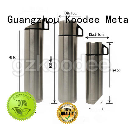 fashion thermal stainless steel water bottle at discount for student Koodee