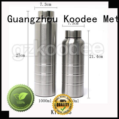 ODM thermos vacuum insulated stainless steel OEM for bar Koodee