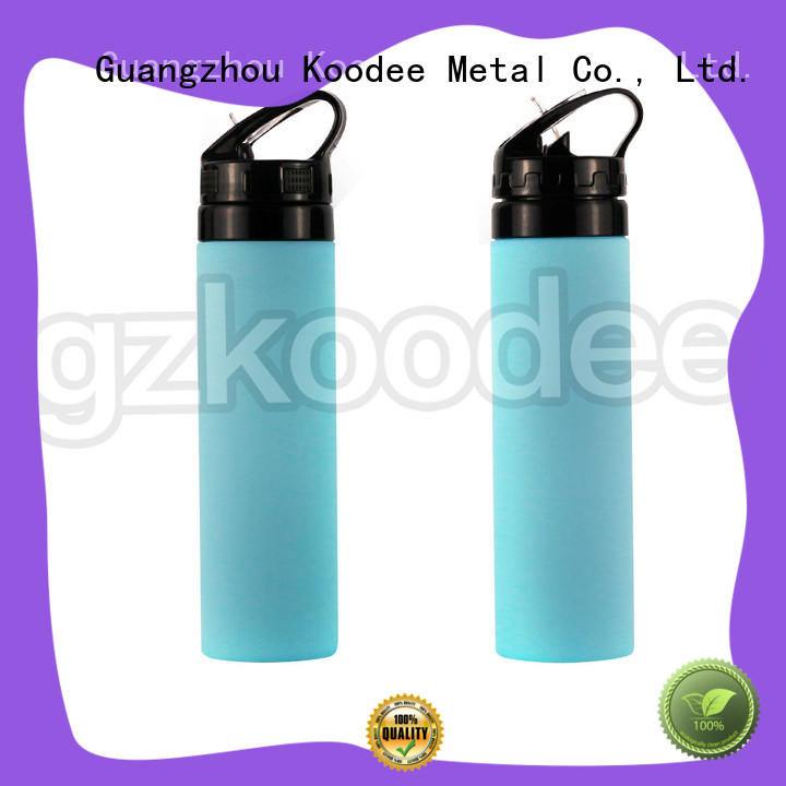bullet shape flat water bottle bulk-production for wholesale
