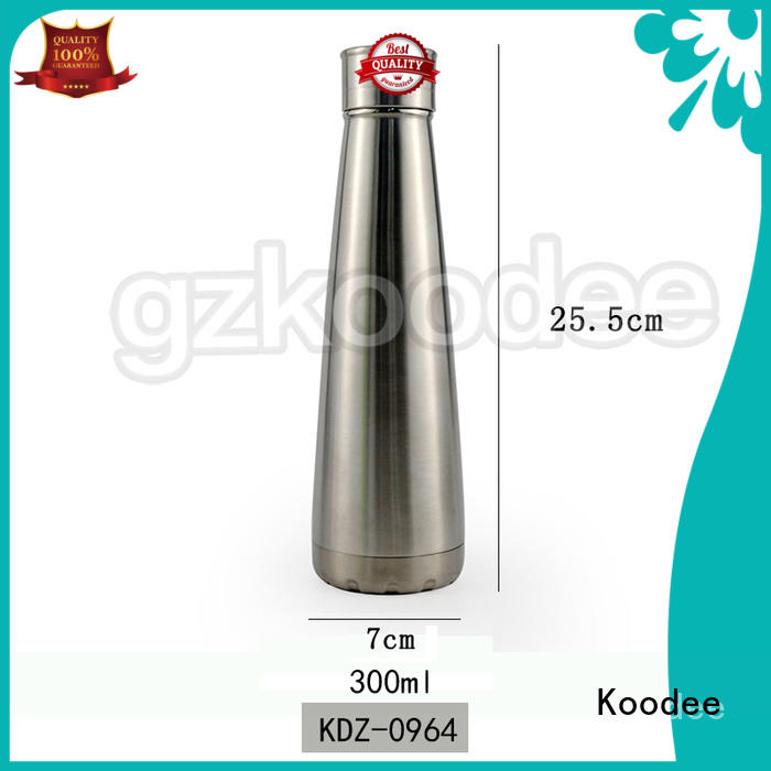 Koodee fashion thermal insulated water bottle top brand for water bottle