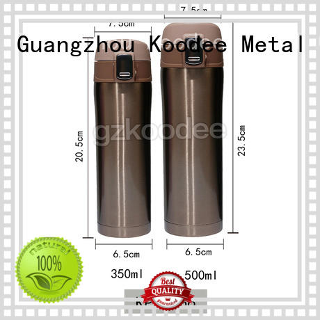 Koodee white best thermos bottle ODM for potable