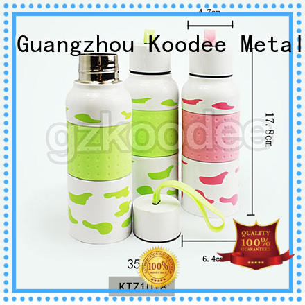 Koodee fashion best insulated stainless steel water bottle contact now for potable