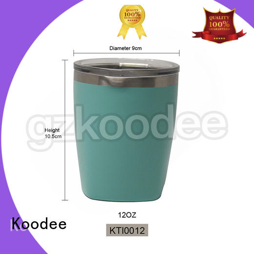 Koodee thermal thermos coffee cup simple design for drinkings