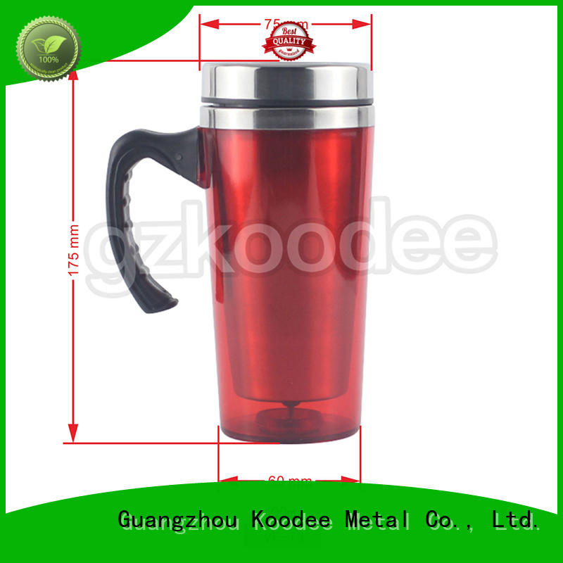 Koodee stainless steel thermos coffee travel mug free sample for milk
