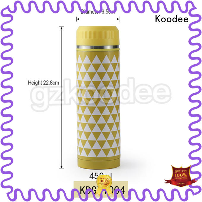 top brand thermos water bottle high-end for potable Koodee
