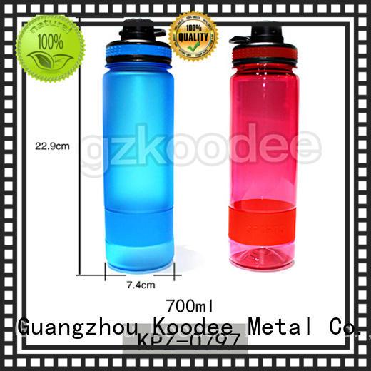 wholesale plastic water bottle printed for student Koodee