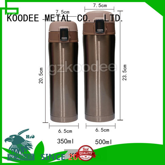 double thermos stainless steel water bottle contact drinking