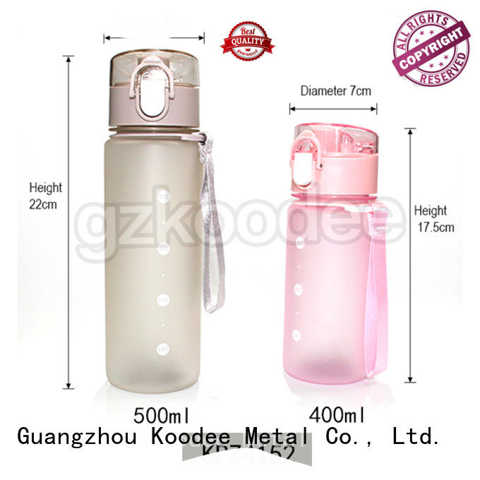 food grade plastic water bottle colorful for juice