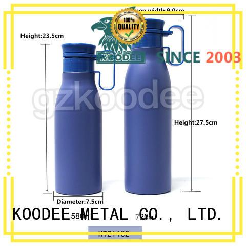 Koodee top brand metal drink bottle custom for drinking
