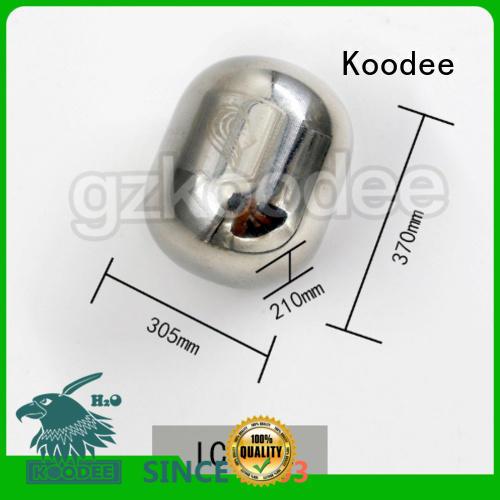 shape metal ice cubes square pint Koodee