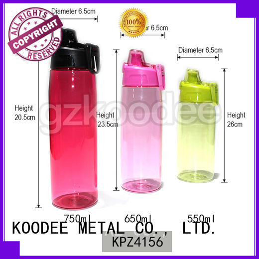 food grade safe plastic drinking bottles competitive for coffee Koodee