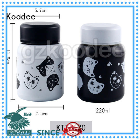 Koodee free design vacuum insulated food jar ODM for travel