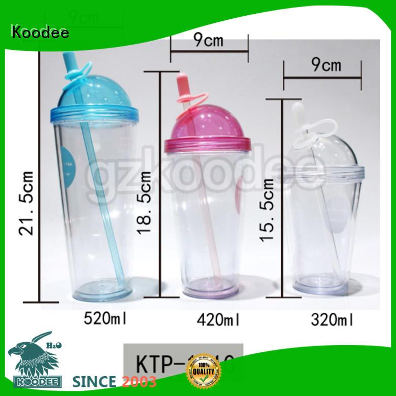 Koodee wall safe plastic drinking bottles big capacity for juice