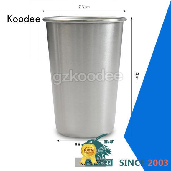 Koodee high-quality metal pint for bar